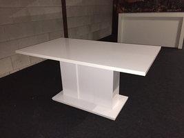 Moderne hoogglans tafel 160 x 90 cm